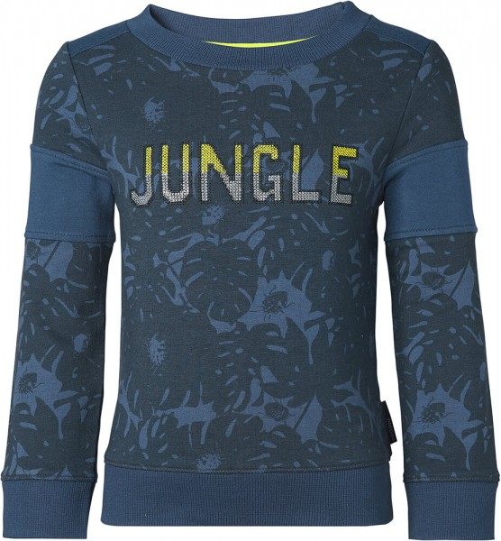 noppies Sweatshirt JUNGLE blau 85103 1