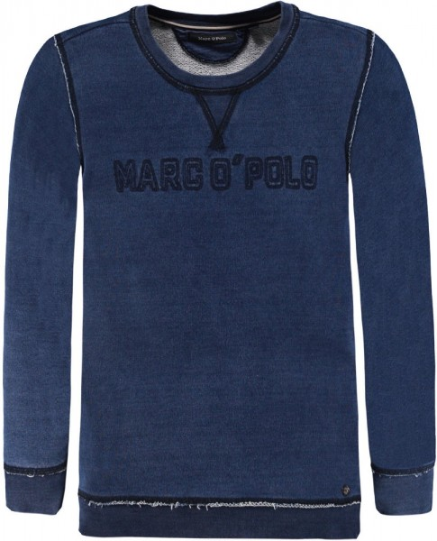 Marc O'Polo Sweatshirt blau 1744843 01