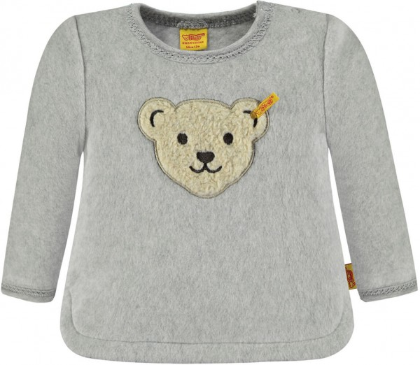 Steiff Fleece Shirt grau 1