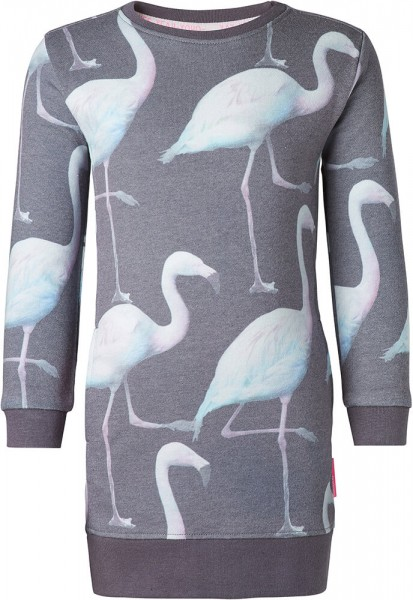 noppies Kleid Flamingo grau 85168 1noppies Kleid Flamingo grau 85168 2