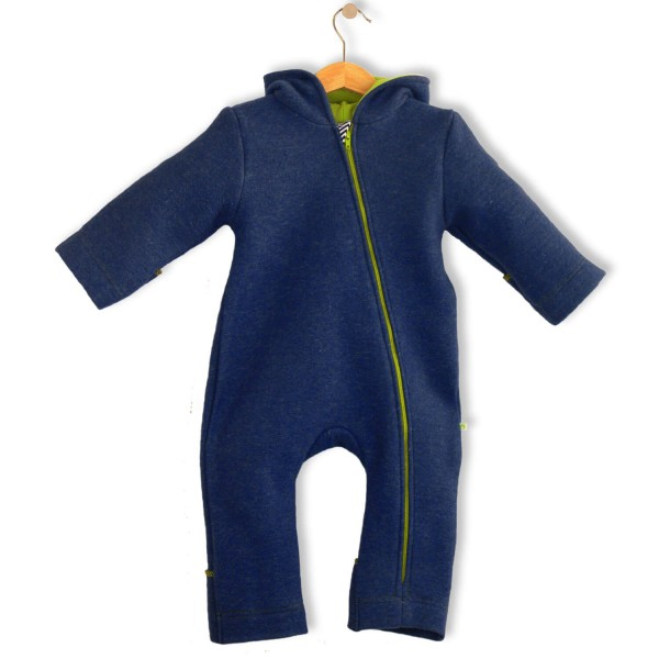 Bubble.kid berlin SOFT-Walkwolle Overall marine 1