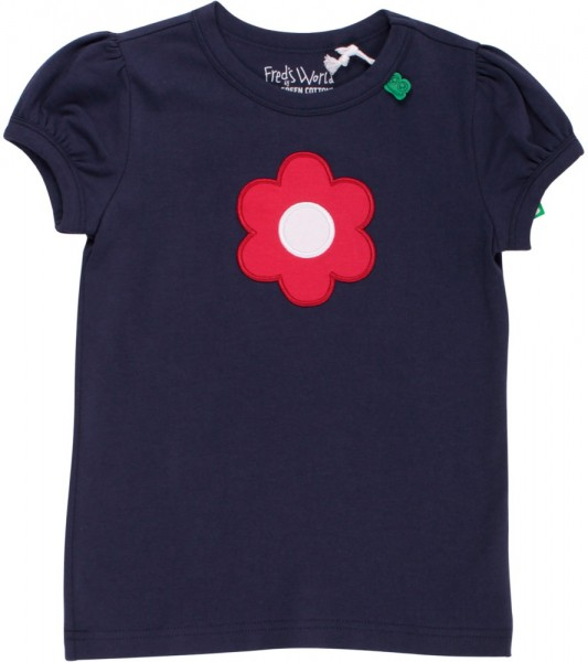Fred's World T-Shirt blau Blume 1511035501