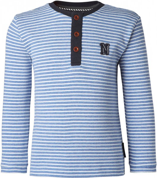 noppies Langarmshirt blau gestreift 75524 1