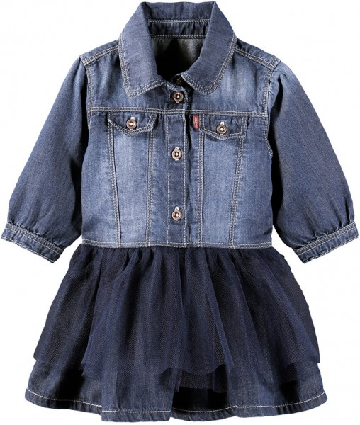 Levi's Kids Tüllkleid denim NK30514 1