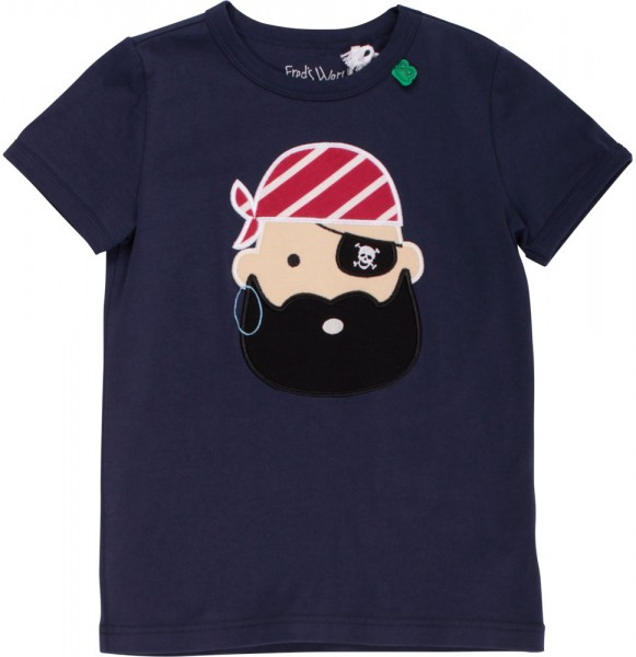 Fred's World T-Shirt blau Pirat 1511033801-01