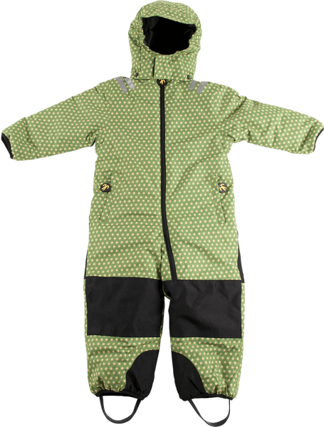 ducksday Kids Schneeanzug funky green 1