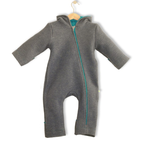 Bubble.kid berlin SOFT-Walkwolle Overall steingrau 40/58 1
