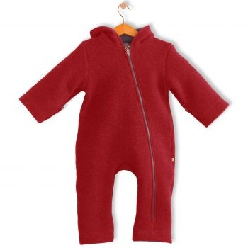 Bubble.kid berlin SOFT-Walkwolle Overall rot