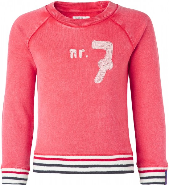 noppies Sweatshirt mit Stickerei rot 75404-01