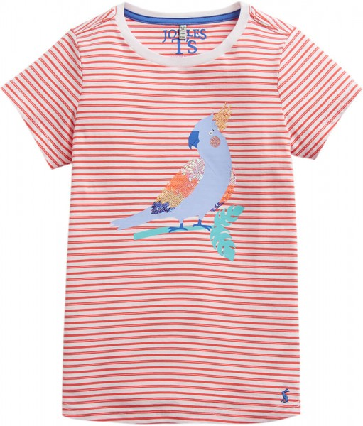 Joules T-Shirt Papagei rot geringelt 203030 1