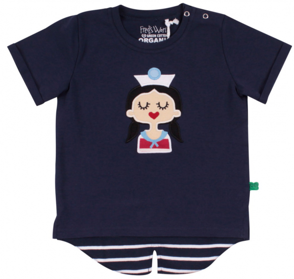Fred's World Matrosen T-Shirt blau 1511034101-01
