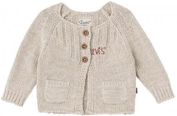 Levi's Kids Strickjacke beige