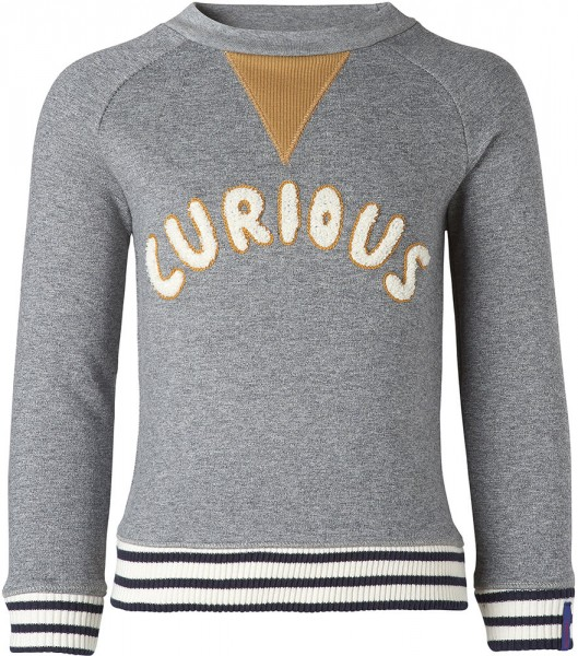 noppies Sweatshirt Curious grau 1