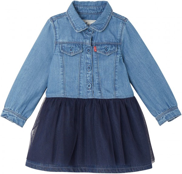 Levi's Kids Tüllkleid denim NM30514 1