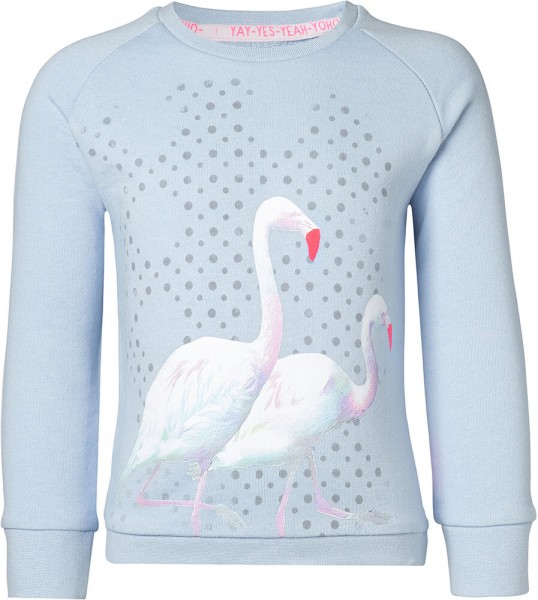 noppies Sweatshirt Flamingo blau 85152 1