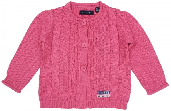 blue Seven Strickjacke rosa - 960002