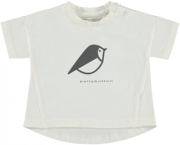 bellybutton T-Shirt weiß Vogel 1762001-01