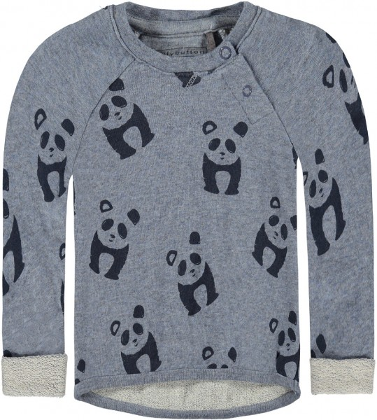 bellybutton Sweatshirt Panda blau