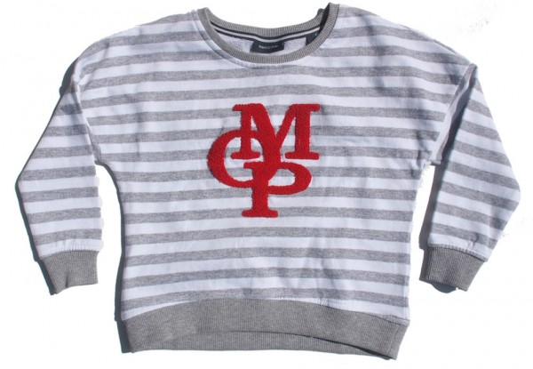 Marc O'Polo Sweatshirt MOP gestreift