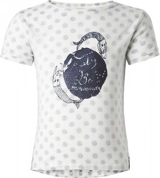 noppies T-Shirt weiß mermaid