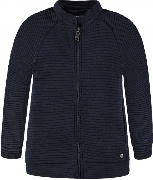 Marc O'Polo Stepp-Sweatjacke marine 1744707 1