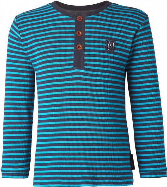 noppies Langarmshirt marine gestreift 75502 1