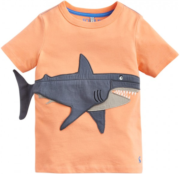 Joules T-Shirt Hai orange 202997 1