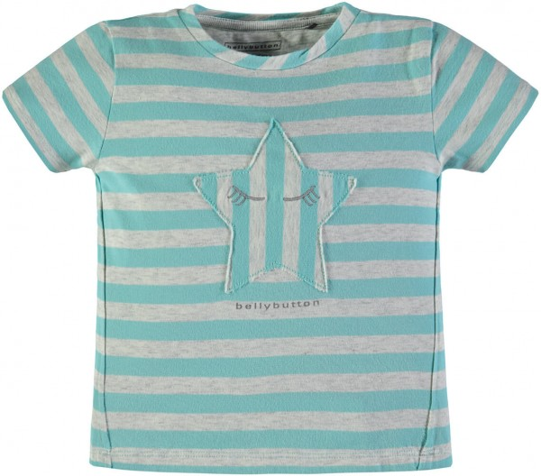 bellybutton T-Shirt Stern gestreift mint 1883241