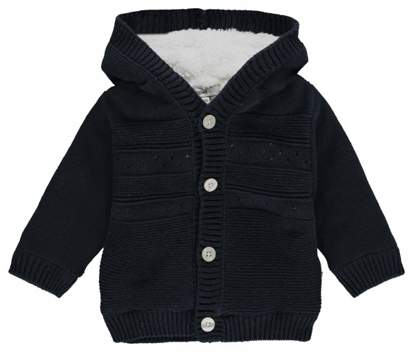 noppies Strickjacke gefüttert marine 84675 1