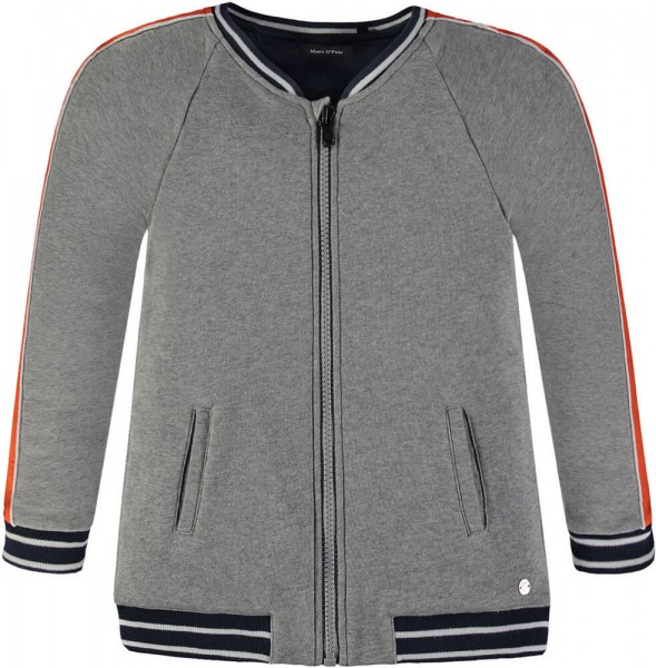 Marc O'Polo Sweatjacke grau 181487 1