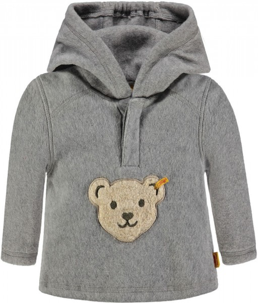 Steiff Fleece Sweatshirt grau 6723773 1